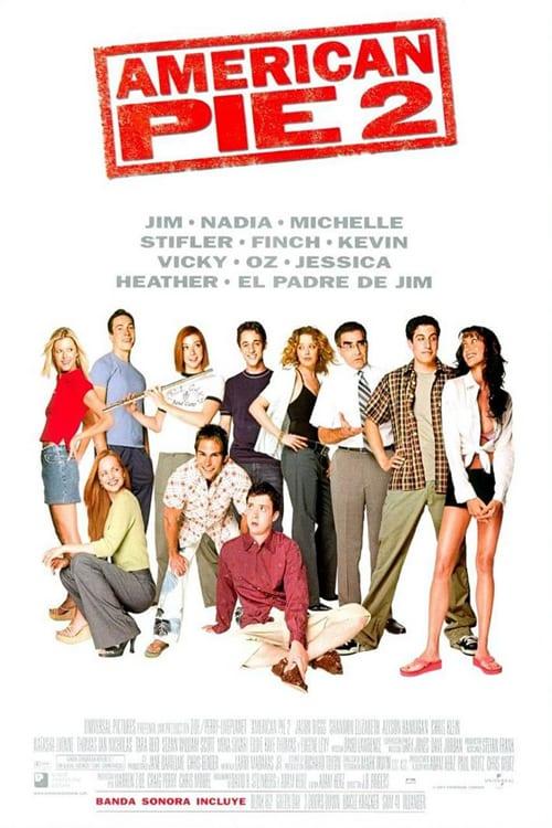 American Pie 2: Tu segunda vez es mejor 2001 [Latino – Ingles] MEDIAFIRE