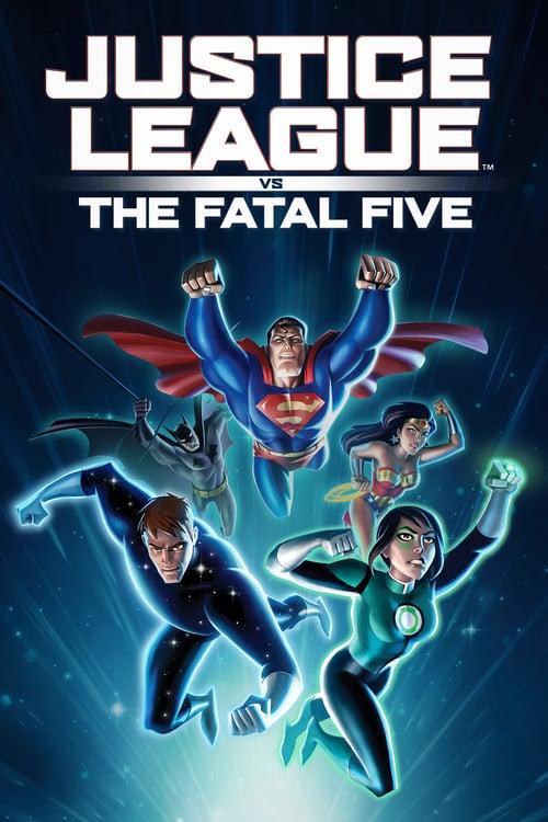 Liga de la Justicia: Los Cinco Fatales 2019 [Latino – Ingles] MEDIAFIRE