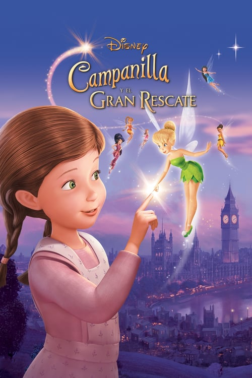 Tinker Bell 3: Hadas al Rescate 2010 [Latino – Ingles] MEDIAFIRE
