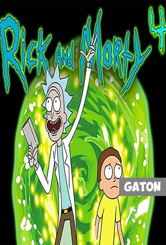 Rick y Morty TEMPORADA 4 [Latino – Ingles] MEDIAFIRE