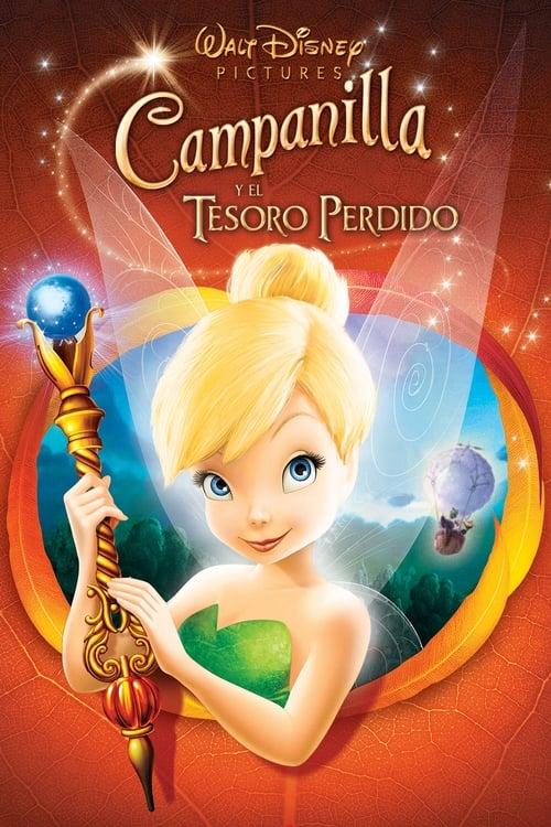 Tinker Bell 2: El tesoro perdido 2009 [Latino – Ingles] MEDIAFIRE