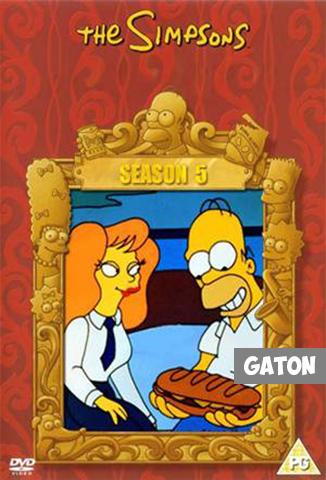 Los Simpson TEMPORADA 5 [Latino – Ingles] MEDIAFIRE