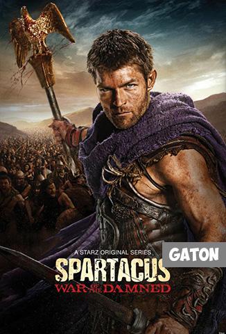 Spartacus: La Guerra de los Condenados TEMPORADA 3 [Latino – Ingles] MEDIAFIRE