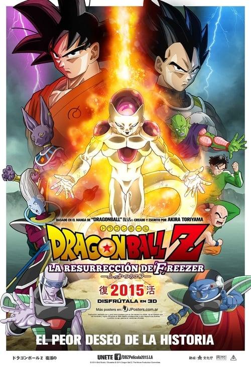 Dragon Ball Z: La Resurrección de Freezer 2015 [Latino – Japones] MEDIAFIRE