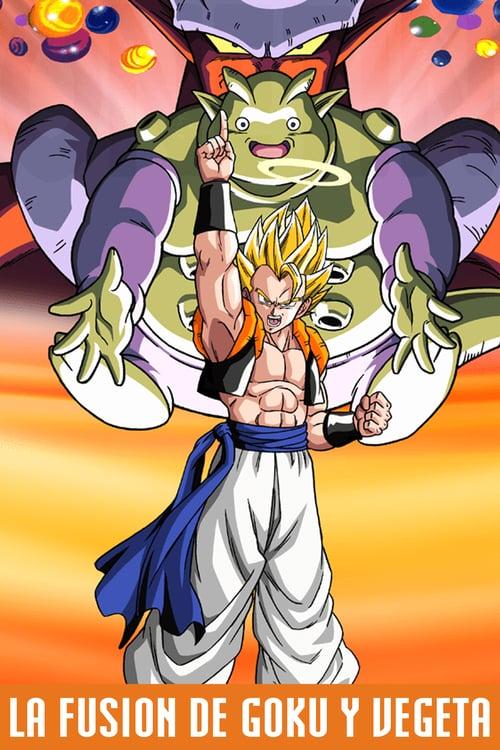 Dragon Ball Z: La Fusión de Goku y Vegeta 1995 [Latino – Japones – Ingles] MEDIAFIRE