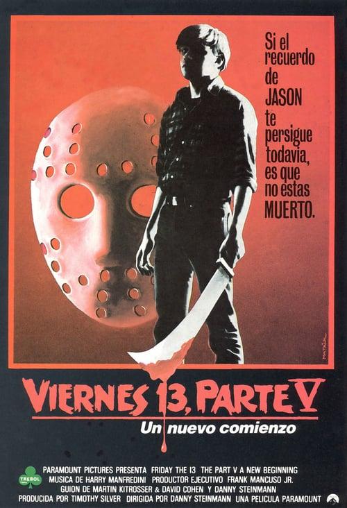 Viernes 13: Parte 5 – Un nuevo comienzo 1985 [Latino – Ingles] MEDIAFIRE
