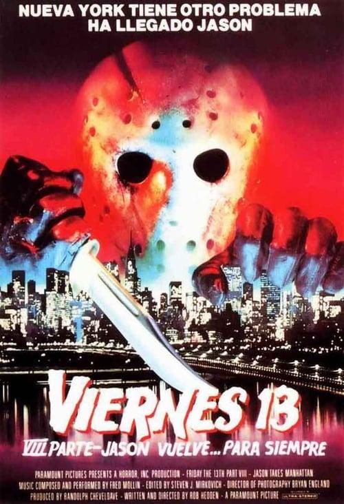 Viernes 13: Parte 8 – Jason toma Manhattan 1989 [Latino – Ingles] MEDIAFIRE