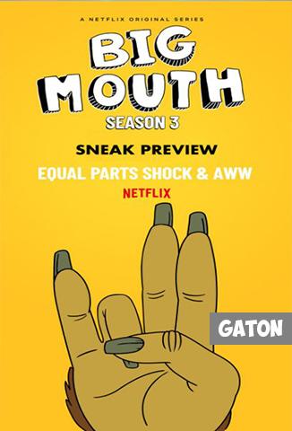 Big Mouth TEMPORADA 3 [Latino – Ingles] MEDIAFIRE