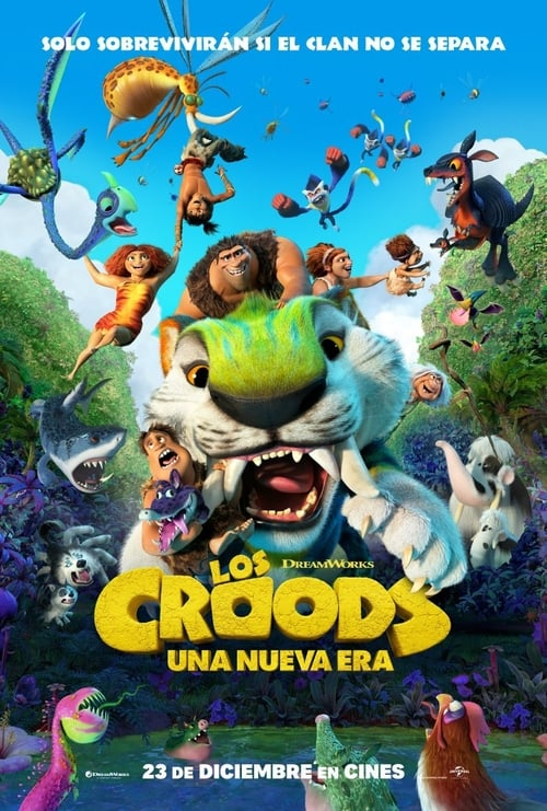 Los Croods 2: Una Nueva Era 2020 [Latino – Ingles] MEDIAFIRE