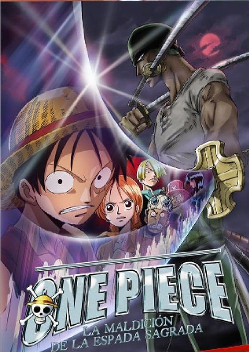 One Piece: La maldición de la espada sagrada 2004 [Castellano – Japones] MEDIAFIRE