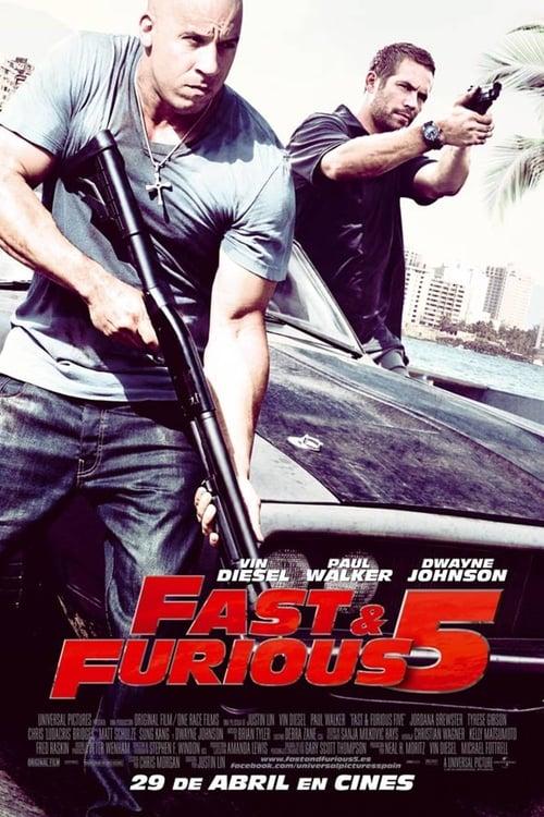 Rápidos y Furiosos: 5in Control 2011 [Latino – Ingles] MEDIAFIRE