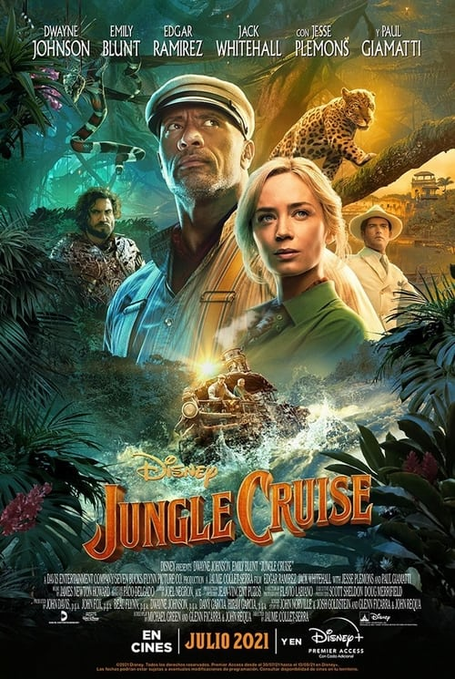 Jungle Cruise 2021 [Latino – Ingles] MEDIAFIRE