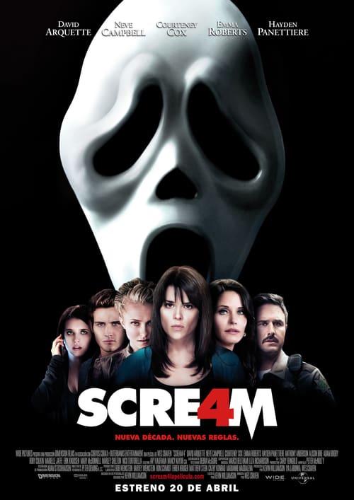 Scream 4 ´2011´ [Latino – Ingles] MEDIAFIRE