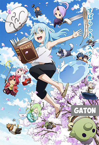 The Slime Diaries: That Time I Got Reincarnated as a Slime TEMPORADA 1 [Latino – Japones] MEDIAFIRE
